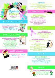 agenda cultural octubre 2014