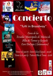 Cartel concierto Musicales