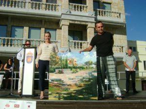 Quinto Premio, patrocinado por Mapfre, delegación Guijuelo. Autor Eduardo Monteagudo