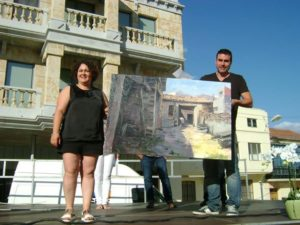 Sexto Premio, patrocinado por el Periodico de Guijuelo y Comarca. Autor Manuel Castillejo