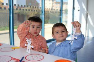Alumnos de la Escuela Infantil Guijuelo -Monstruosa Sorpresa-