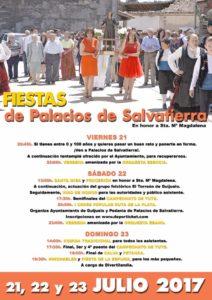 Cartel Anunciador de las Fiestas. Diseño y maquetación Ana Pérez