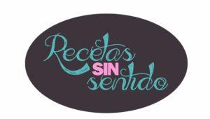 Logo Recetas sin sentido. Diseño Ana Pérez